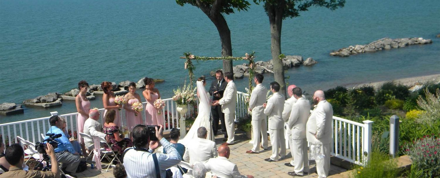 Our Picturesque Lake Erie Setting Offers A Beautiful Backdrop For Wedding Ceremony