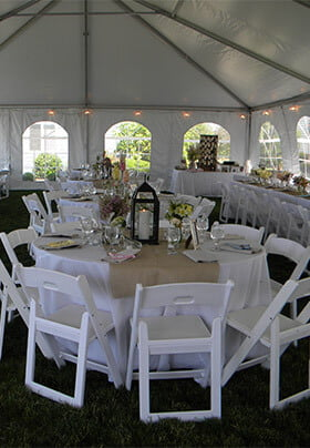 Our venue is the perfect location for an outdoor wedding overlooking Lake Erie