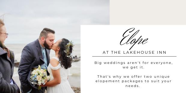 The Lakehouse Inn elopement