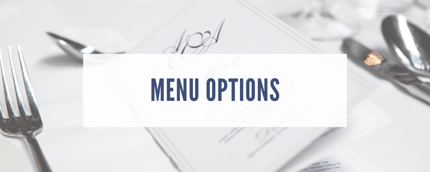 Menu Options