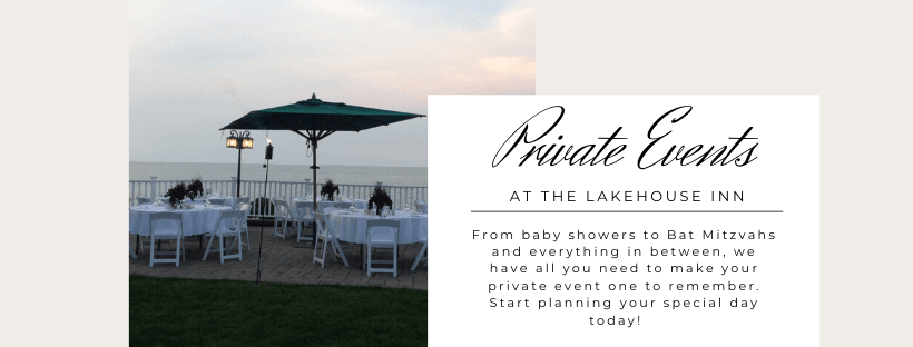 Private Events at The Lakehouse Inn