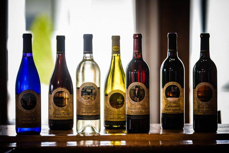 The Lakehouse Inn wine