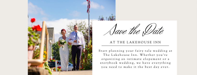 The Lakehouse Inn weddings