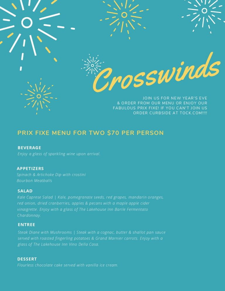 Crosswinds Event Info